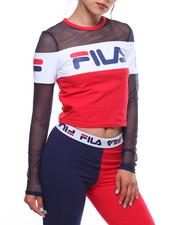 Fila - Tara Crop Long Sleeve Tee-2238651