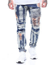 Cyber Monday Deals - BLEACH RUSTED MOTO JEAN-2239093