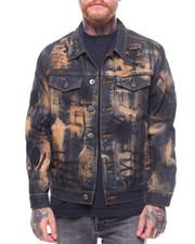 Outerwear - RUST RINSE DENIM JACKET-2238915