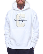 Champion - Reverse Weave Large C And Script Pullover Hood-2238928