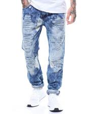 Buyers Picks - BLEACHED SPLATTER INDIGO MOTO JEAN-2239065