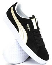 Footwear - Suede Varsity Sneakers-2239324