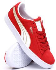 Footwear - Suede Varsity Sneakers-2239313