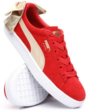 Puma - Suede Bow Varsity Sneakers-2239302