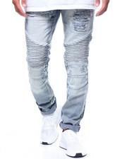 Jeans & Pants - ICE WASH MOTO JEAN-2239507