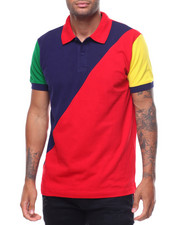 Buyers Picks - BORDER RAILS COLORBLOCK POLO-2239408