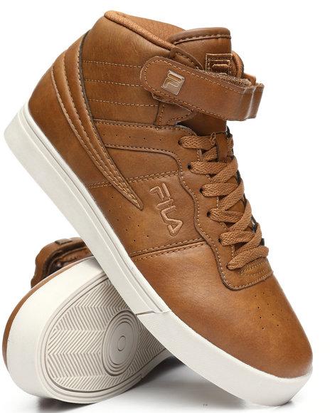 Fila - Vulc 13 Mid Plus Distress Sneakers