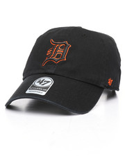 Dad Hats - Detroit Tigers Clean Up Strapback Hat-2238927