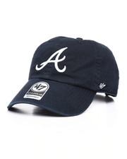 Dad Hats - Atlanta Braves Clean Up Strapback Hat-2239464