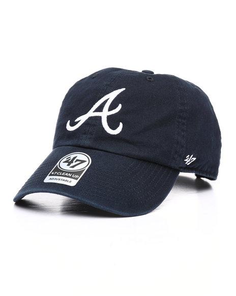 '47 - Atlanta Braves Clean Up Strapback Hat