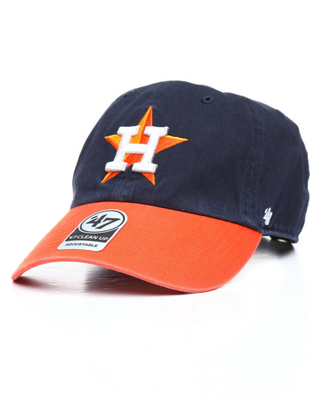 443b74bb1cd03 Buy Houston Astros Clean Up Strapback Hat Men s Hats from  47. Find ...