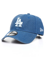 Dad Hats - 9Twenty LA Dodgers Rugged Heather Strapback Cap-2238519