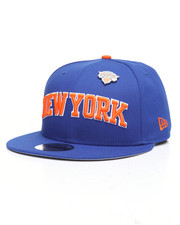 NBA, MLB, NFL Gear - 9Fifty New York Knicks Pinned Snapback Hat-2238510