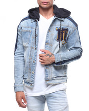 MADBLUE - Denim Jacket w Detachable Hood-2239954