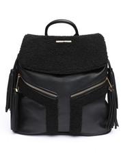 Rampage - Shearling Backpack w/Tassels-2239223