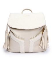 Rampage - Shearling Backpack w/Tassels-2239222