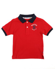 Boys - Nautica Cod Polo (4-7)-2239829