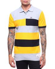 Men - Cut & Sew Bar Stripe Polo-2241034