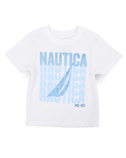 Nautica - Nautica Graphic Print Tee (2T-4T)-2240054