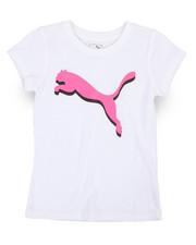 Puma - Puma Cat Graphic Tee (7-16)-2240352