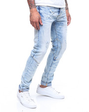 MADBLUE - Rip and Repair Denim Pants-2240900