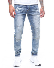 MADBLUE - Rip and Repair Denim Pants-2240909