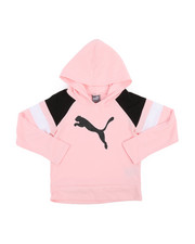 Girls - Jersey Color Block Pullover Hoodie (4-6X)-2240308