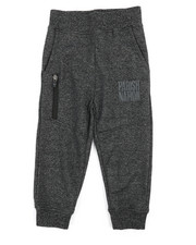 Bottoms - Marled Loopback Sweatpants (2T-4T)-2240516