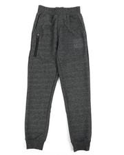 Sizes 8-20 - Big Kids - Marled Loopback Sweatpants (8-20)-2240494