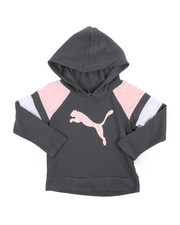 Girls - Jersey Color Block Pullover Hoodie (2T-4T)-2240299