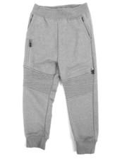 Parish - Marled Moto Sweatpants (4-7)-2240600