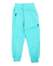 Parish - Marled Moto Sweatpants (4-7)-2240637