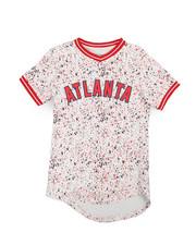 Sizes 8-20 - Big Kids - City Baseball Atlanta Jersey Tee (8-20)-2240454