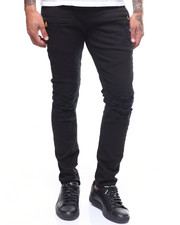 Jeans & Pants - Distressed Twill Moto Pant-2240745
