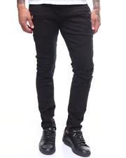 Slim - Distressed Twill Moto Pant-2240745
