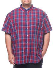 Button-downs - S/S Easy Care H-Easy Care Sport Shirt (B&T)-2240921