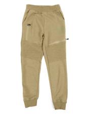 Parish - Marled Moto Sweatpants (8-20)-2240586