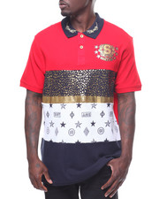SWITCH - CUT & SEW BLOCK FOIL POLO-2241532