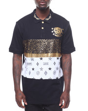 SWITCH - CUT & SEW BLOCK FOIL POLO-2241624