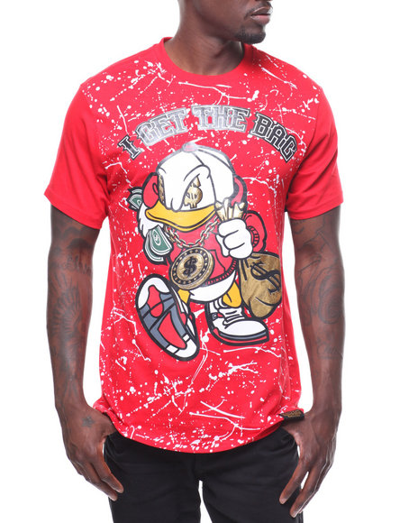 504c18a4888d Buy GET THE BAG SPLATTER TEE Men s Shirts from SWITCH. Find SWITCH ...