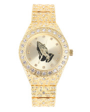 Jewelry & Watches - Praying Hands Nugget Watch-2240246