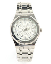 Jewelry & Watches - Fashion Silver Plated Iced Watch-2240254
