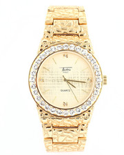 Jewelry & Watches - Blinged Out Nugget Watch-2240250