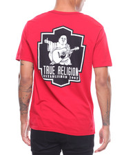 True Religion - BLACK CREST SS CREW NECK TEE-2242522