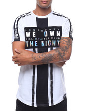 SWITCH - WE OWN THE NIGHT FLOCKED TEE-2242251
