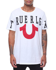 True Religion - TR ACRS SS ELONGATED CREW NECK-2242472