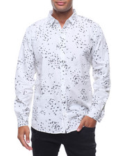 Button-downs - LS STAR INK BLOT BUTTONDOWN SHIRT-2242500