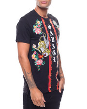 SWITCH - SAVAGE TIGER EMBROIDERED TEE-2242279