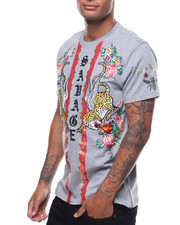 SWITCH - SAVAGE TIGER EMBROIDERED TEE-2242263