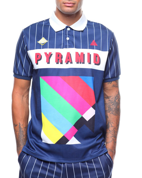 1a89db2e38de3 Buy BP Abstract Polo Men s Shirts from Black Pyramid. Find Black ...